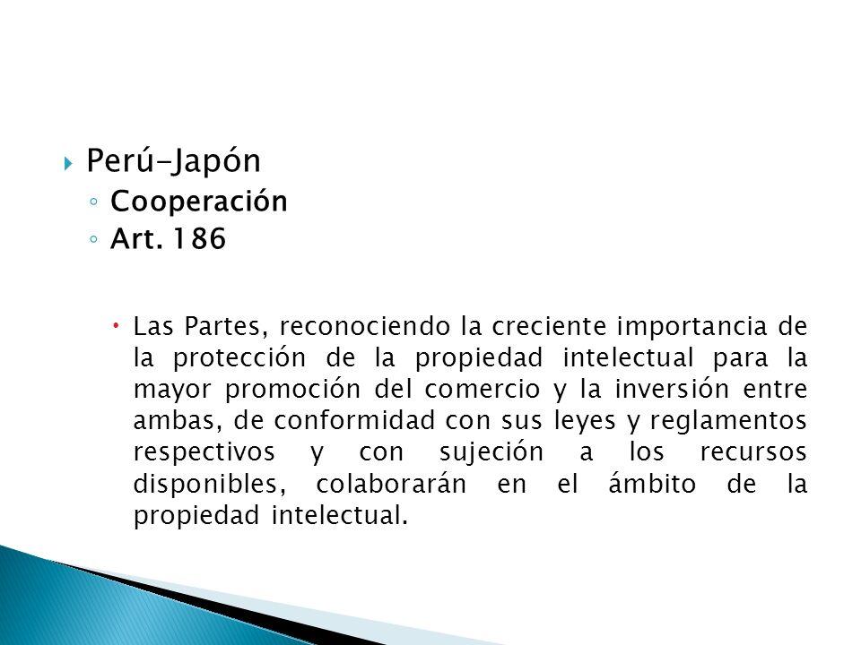 Perú-Japón Cooperación Art.