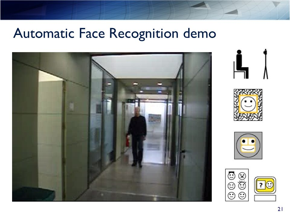 Automatic Face Recognition demo 21