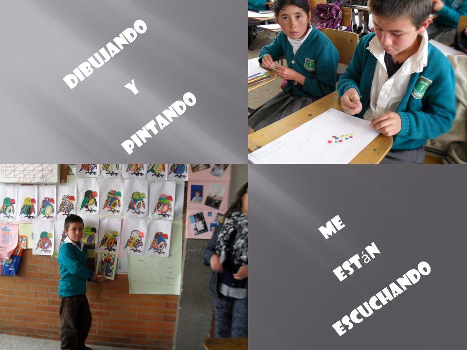 dibujando Y pintando Me Est á n escuchando