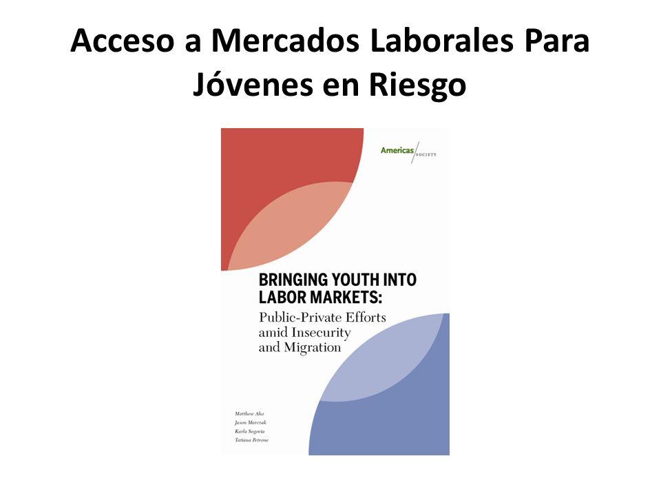 Acceso a Mercados Laborales Para Jóvenes en Riesgo