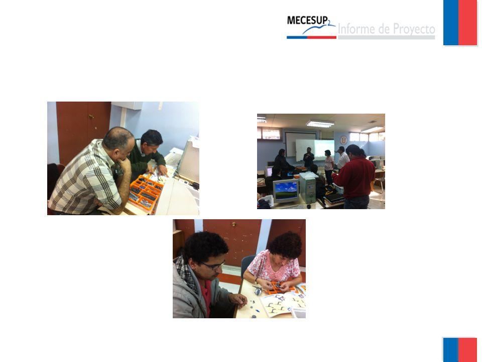 Actividades realizadas 29 Gobierno de Chile   Ministerio de Educación OBJ.E.4 Fortalecer las capacidades docentes Estrategia 4.1: Capacitar a los docentes en tecnología y metodologías de enseñanza aprendizaje.