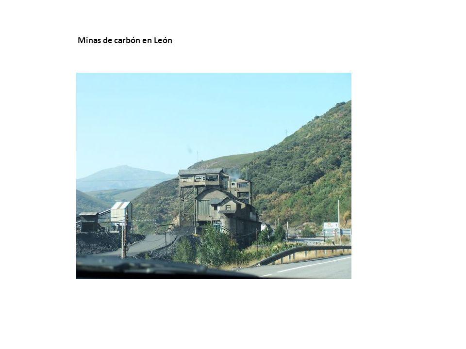 Minas de carbón en León