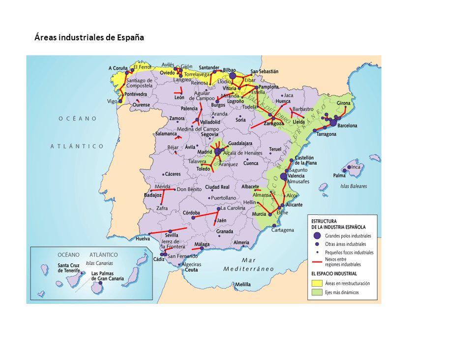 Áreas industriales de España