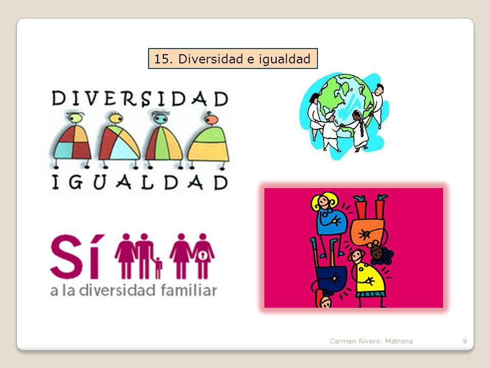 Carmen Rivero. Matrona9 15. Diversidad e igualdad