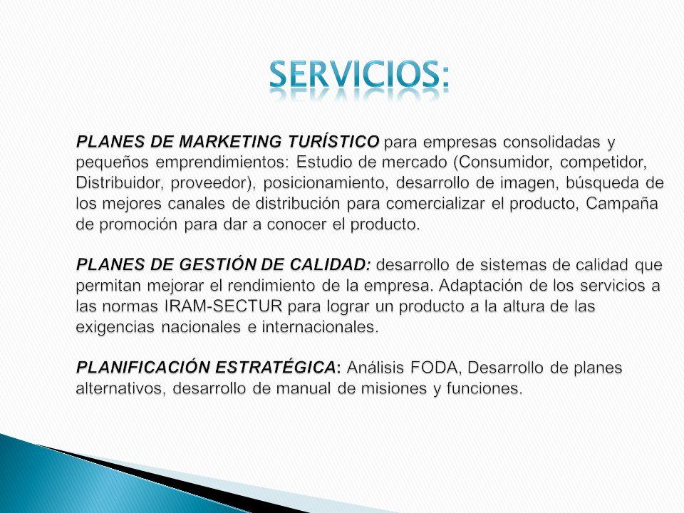 PLANES DE MARKETING TURÍSTICO para empresas consolidadas y pequeños emprendimientos: Estudio de mercado (Consumidor, competidor, Distribuidor, proveed