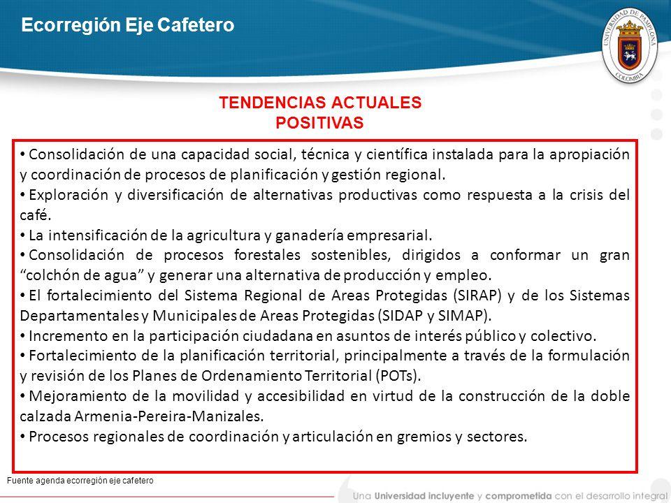 Consolidación de una capacidad social, técnica y científica instalada para la apropiación y coordinación de procesos de planificación y gestión region