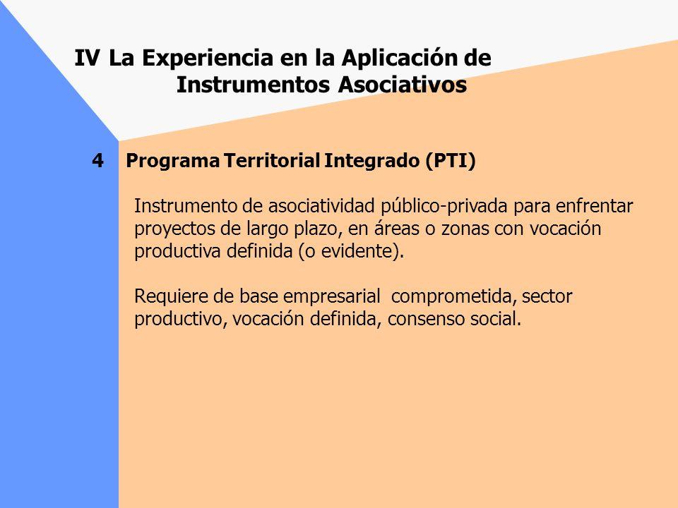 3 Programa de Desarrollo de Proveedores (PDP) Uitlizado preferentemente como mecanismo de transferencia tecnológica y de reconversión productiva. Ha c