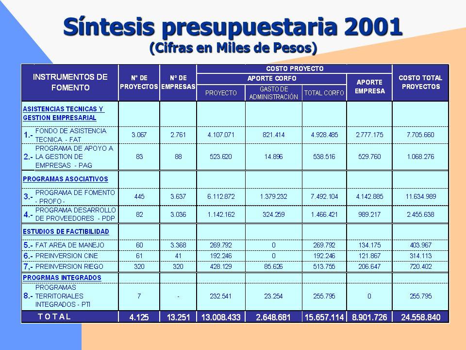 Los Agentes Operadores Intermediario (23) Preparación de los proyectos con los empresarios. Presentación de los proyectos, para su cofinanciamiento, a