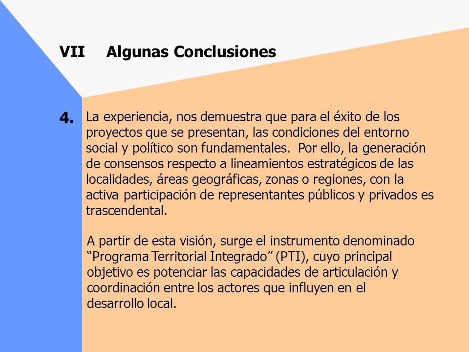 3. La participación directa en el proceso de preparación de proyectos y su administración por parte del sector privado a través de los Agentes Operado