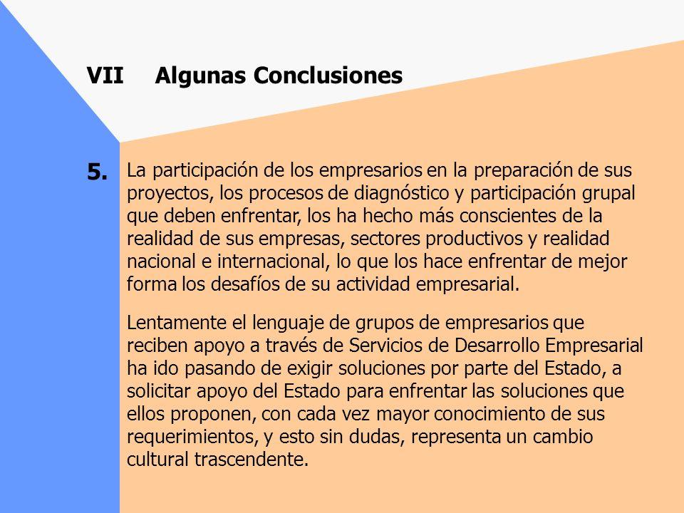 4. La experiencia, nos demuestra que para el éxito de los proyectos que se presentan, las condiciones del entorno social y político son fundamentales.