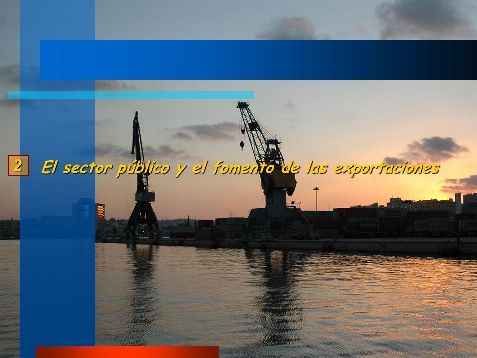 2 El sector público y el fomento de las exportaciones