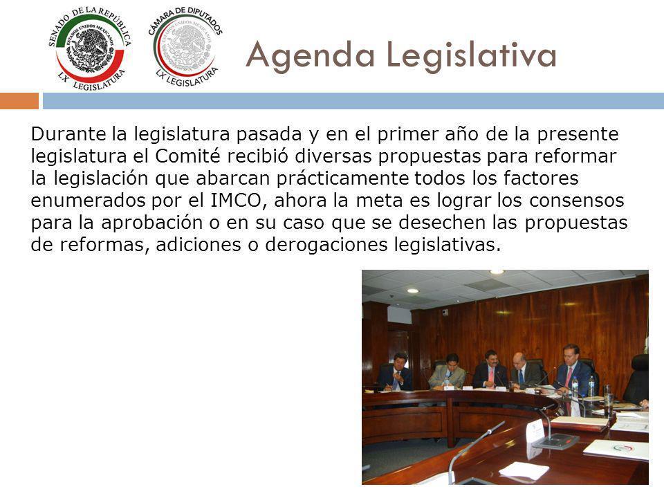 Durante la legislatura pasada y en el primer año de la presente legislatura el Comité recibió diversas propuestas para reformar la legislación que aba