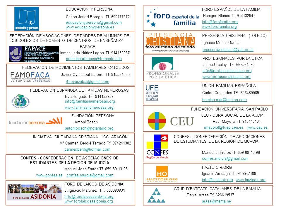 EDUCACIÓN Y PERSONA Carlos Jariod Borego Tf. 699177572 educacionypersona@gmail.com www.educacionypersona.eseducacionypersona@gmail.com www.educacionyp