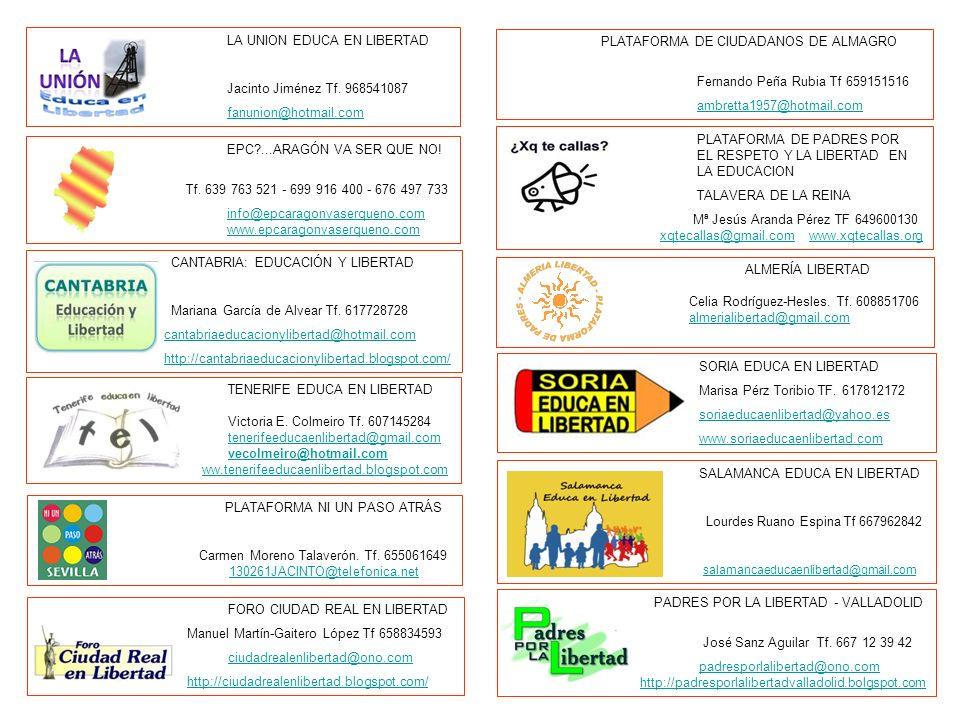 EPC?...ARAGÓN VA SER QUE NO! Tf. 639 763 521 - 699 916 400 - 676 497 733 info@epcaragonvaserqueno.com www.epcaragonvaserqueno.com CANTABRIA: EDUCACIÓN
