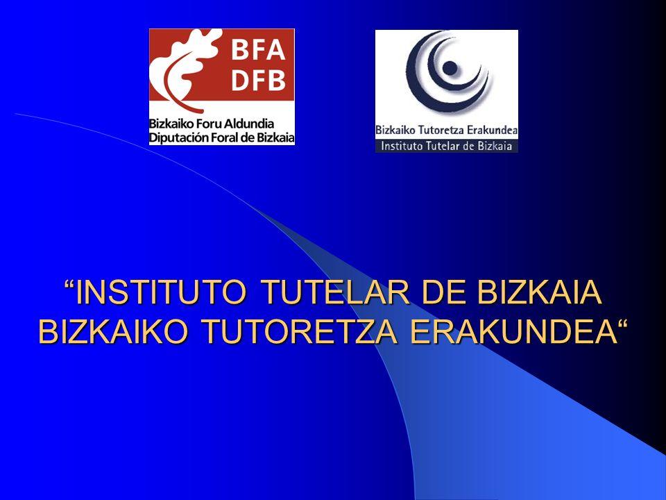 INSTITUTO TUTELAR DE BIZKAIA BIZKAIKO TUTORETZA ERAKUNDEA