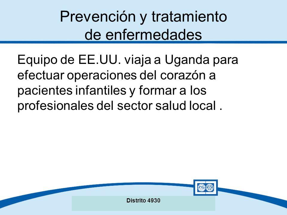 Prevención y tratamiento de enfermedades Equipo de EE.UU.