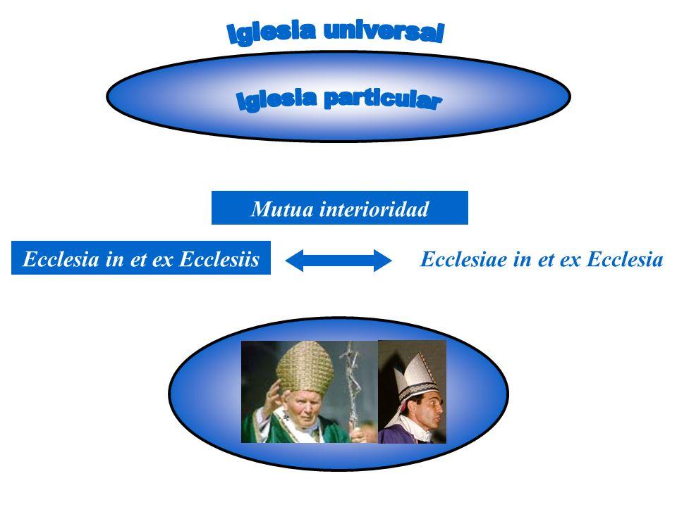 Ecclesia in et ex EcclesiisEcclesiae in et ex Ecclesia Mutua interioridad