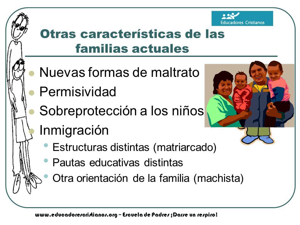 www.educadorescristianos.org – Escuela de Padres ¡Darse un respiro.
