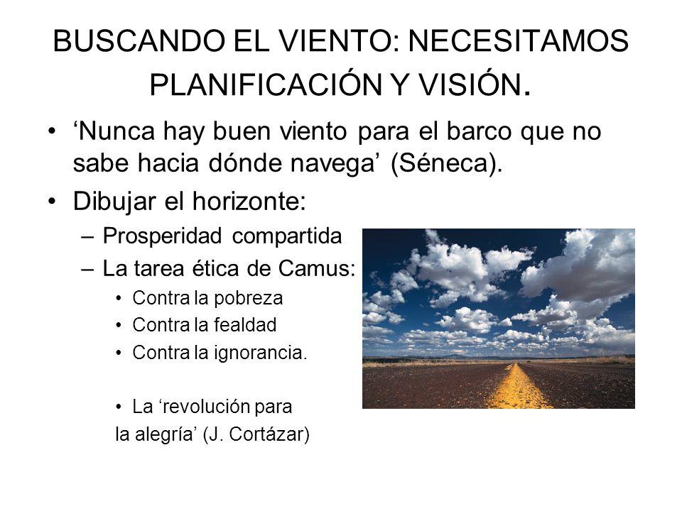 Y es ya la salvación querer salvarnos (Pedro Salinas) Planificación y mejora del liderazgo: Plan de acción municipal (288 medidas) Difusión del Plan (más comunicación).