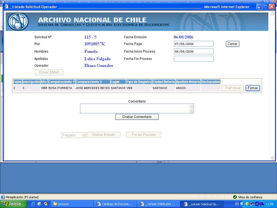 http://documentos.archivonacional.cl http://documentos.archivonacional.cl Firma electrónica de documentos por el conservador del Archivo