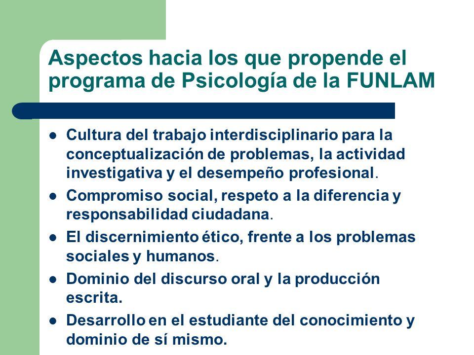 Cultura del trabajo interdisciplinario para la conceptualización de problemas, la actividad investigativa y el desempeño profesional. Compromiso socia