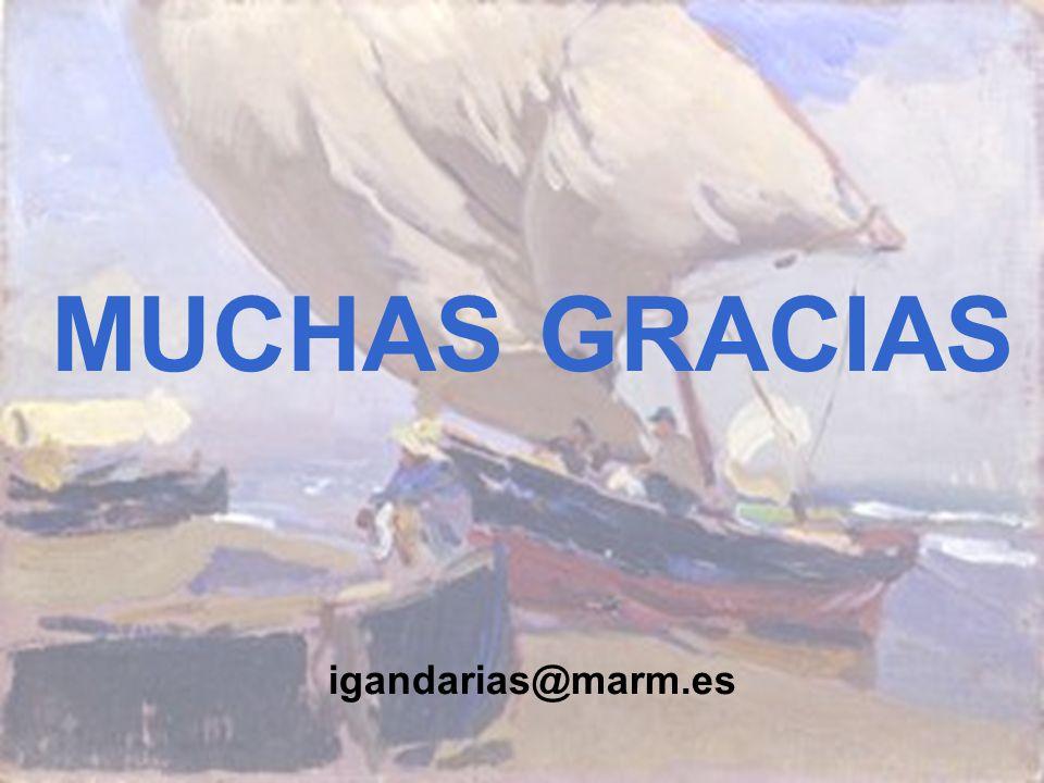 MUCHAS GRACIAS igandarias@marm.es