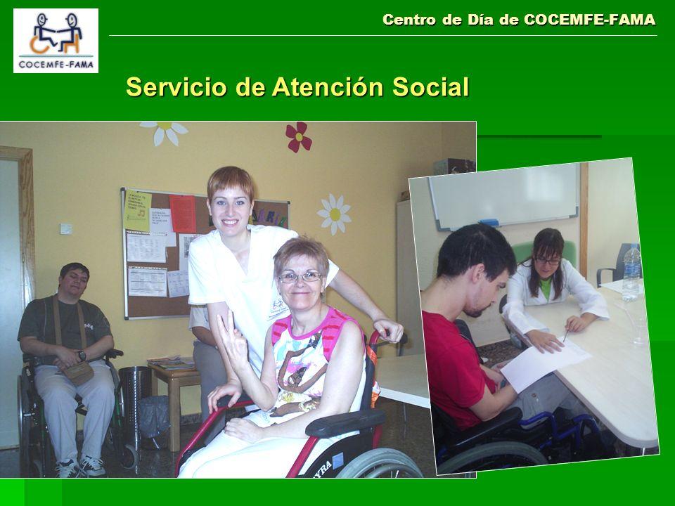 Centro de Día de COCEMFE-FAMA Servicio de Atención Social