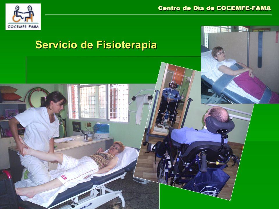 Centro de Día de COCEMFE-FAMA Servicio de Fisioterapia
