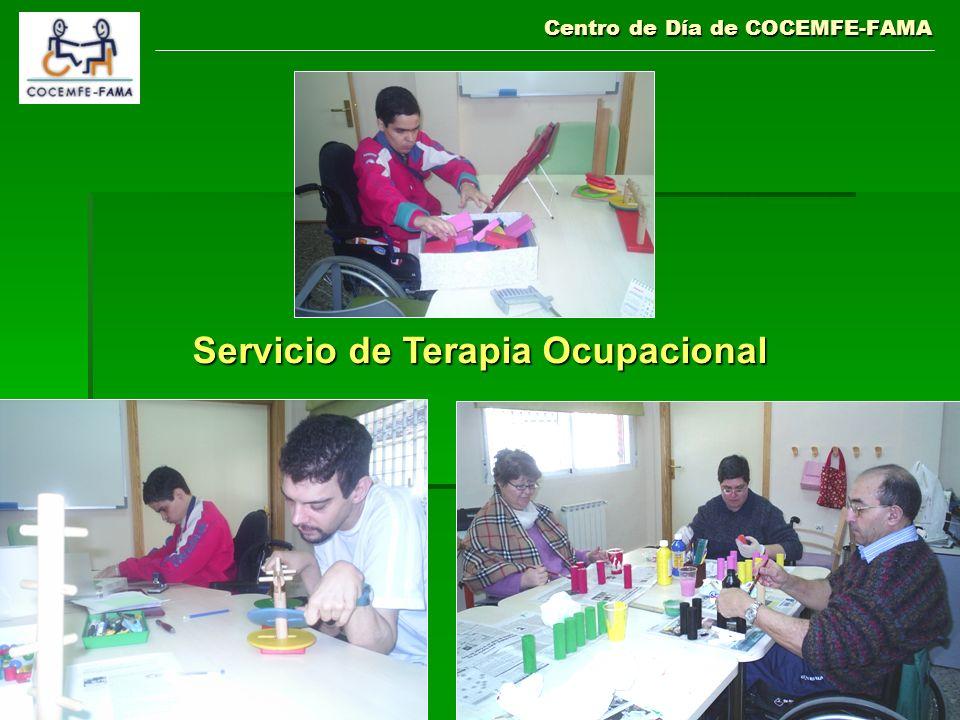 Centro de Día de COCEMFE-FAMA Servicio de Terapia Ocupacional