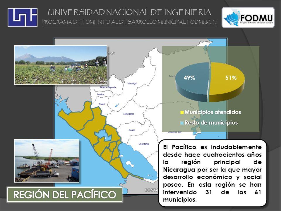 UNIVERSIDAD NACIONAL DE INGENIERIA PROGRAMA DE FOMENTO AL DESARROLLO MUNICIPAL FODMU-UNI El Pacífico es indudablemente desde hace cuatrocientos años l