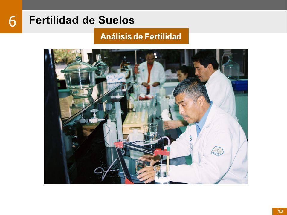 13 Fertilidad de Suelos 6 Análisis de Fertilidad