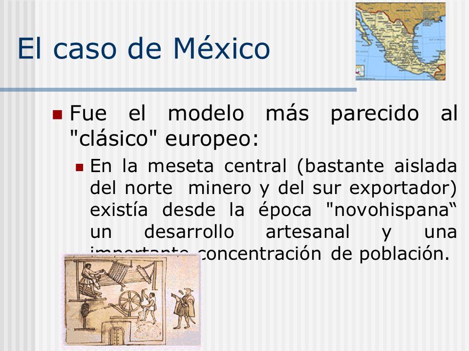 El caso de México Fue el modelo más parecido al