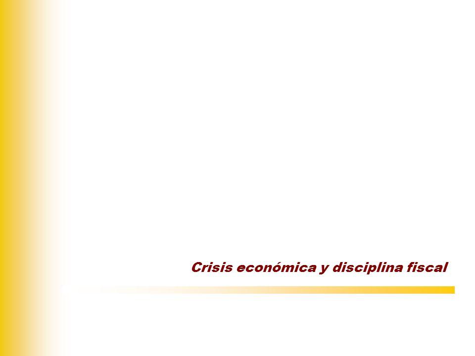 Primera fase: fomento de políticas expansivas Plan Europeo de Recuperación Económica (diciembre 2008).