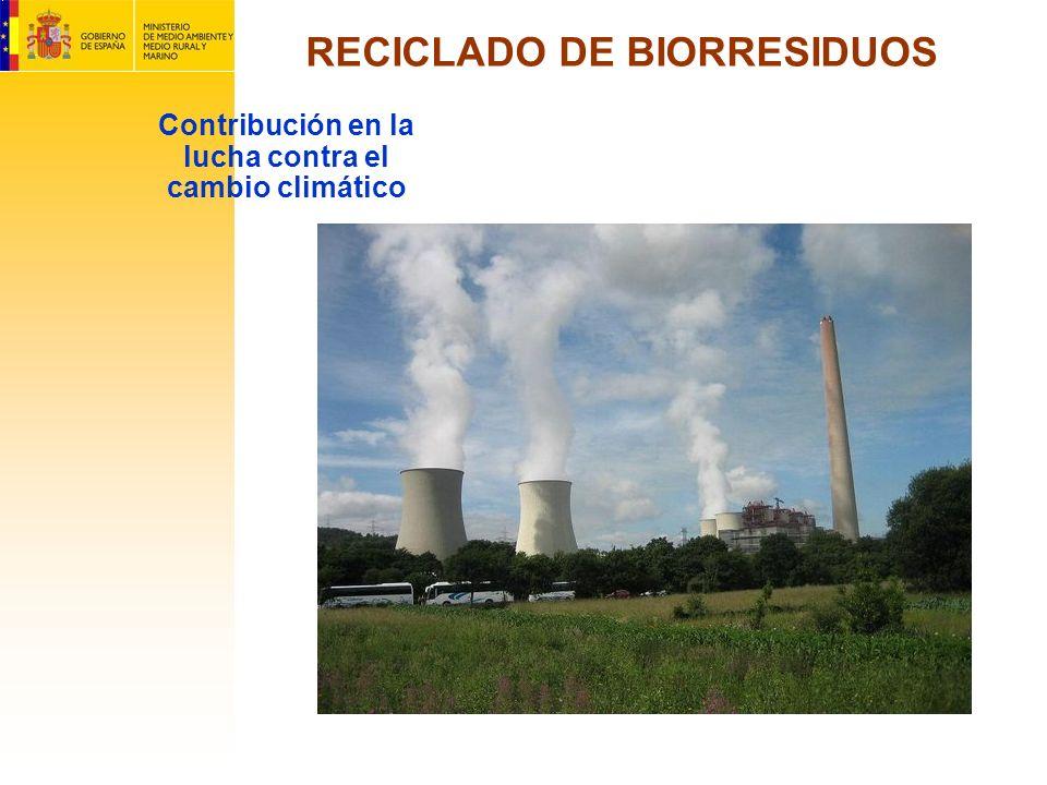 RECICLADO DE BIORRESIDUOS Contribución en la lucha contra el cambio climático