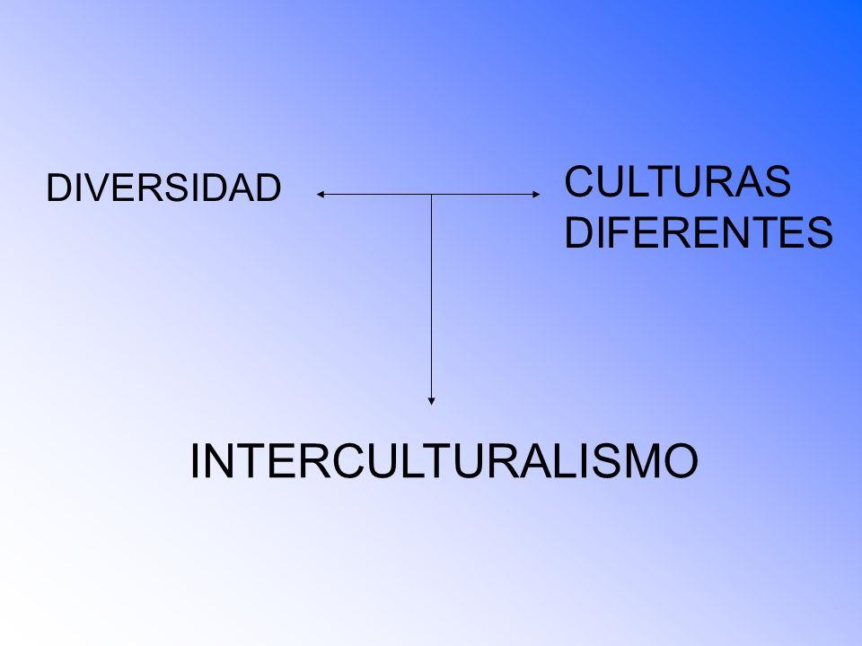 DIVERSIDAD CULTURAS DIFERENTES INTERCULTURALISMO