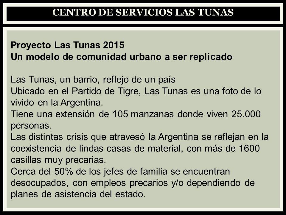 CENTRO DE SERVICIOS LAS TUNAS Proyecto Las Tunas 2015 Un modelo de comunidad urbano a ser replicado Las Tunas, un barrio, reflejo de un país Ubicado e