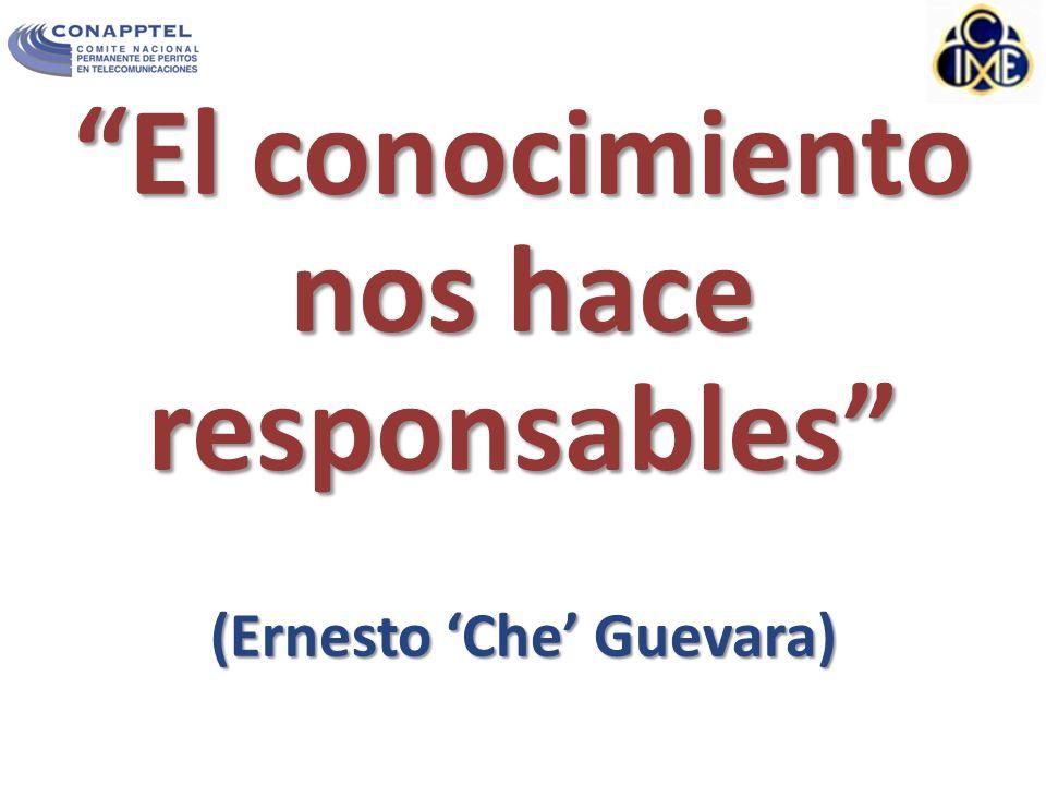 El conocimiento nos hace responsables (Ernesto Che Guevara)