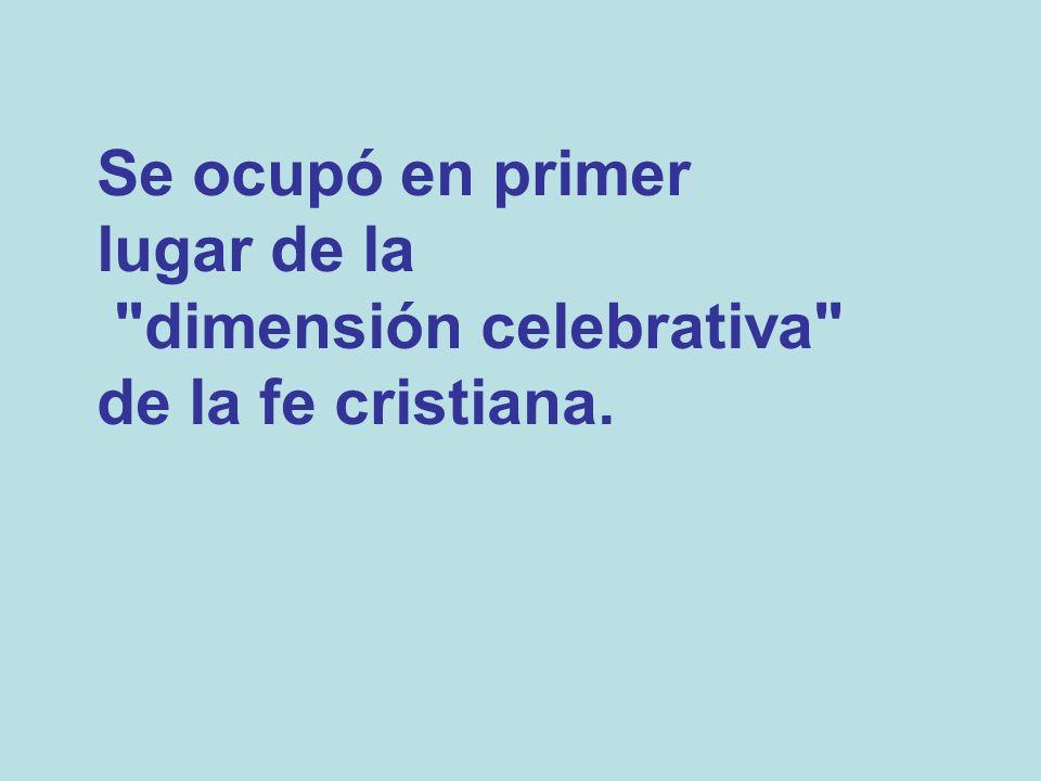 Por ser la liturgia obra de la Iglesia, el sujeto de toda celebración es ella misma, es decir, todo el pueblo reunido, bajo la presidencia de sus pastores (S.C.