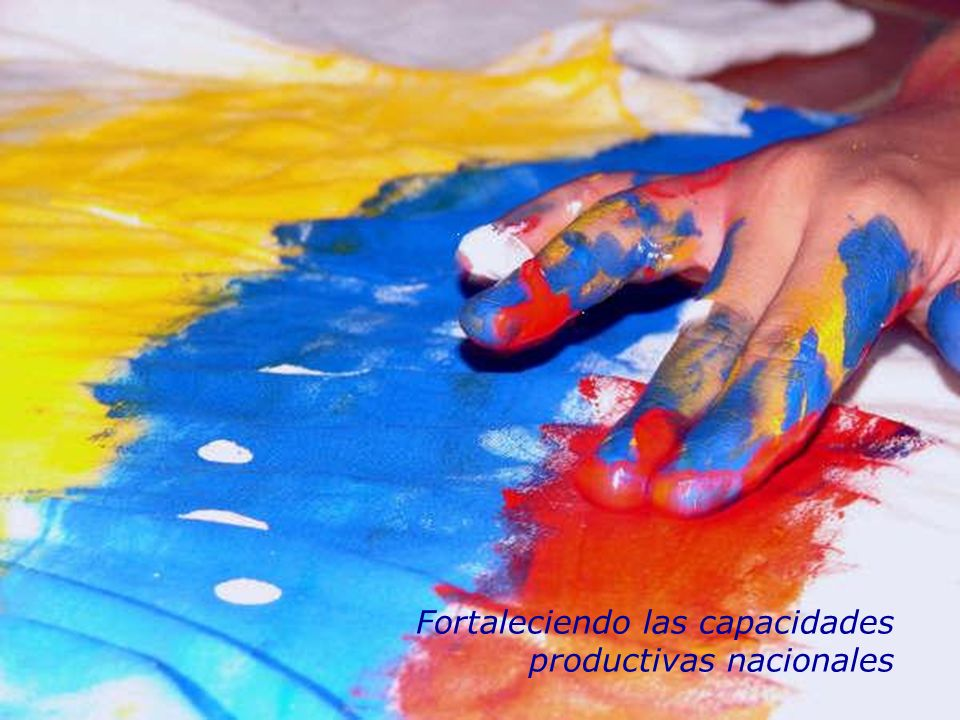 Noviembre 2007 Ciencia y Tecnología con y para la gente Fortaleciendo las capacidades productivas nacionales