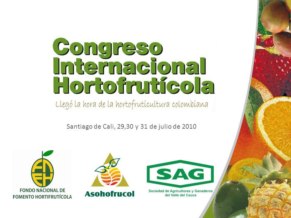 FONDO NACIONAL DE FOMENTO HORTOFRUTÍCOLA Como contribución al desarrollo y fortalecimiento del subsector de las frutas y hortalizas.