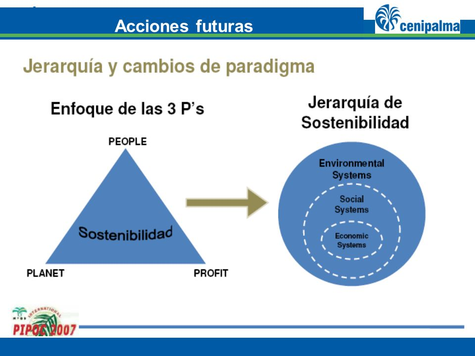 (MEJORES PRÁCTICAS) 2. Tipos de enfoque para la incorporación y aplicación del conocimiento Acciones futuras