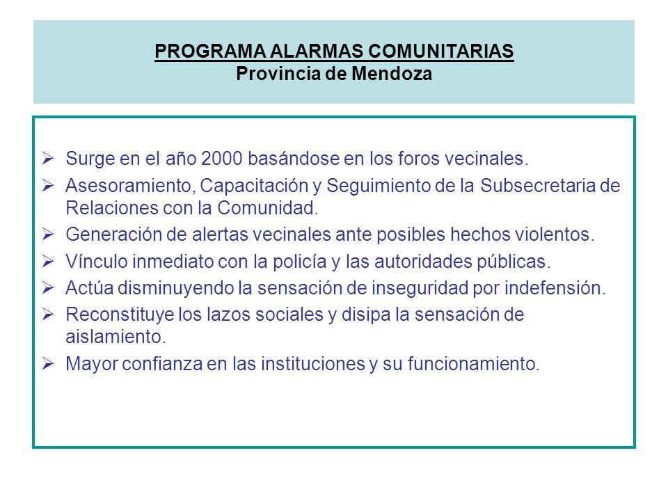 Surge en el año 2000 basándose en los foros vecinales. Asesoramiento, Capacitación y Seguimiento de la Subsecretaria de Relaciones con la Comunidad. G