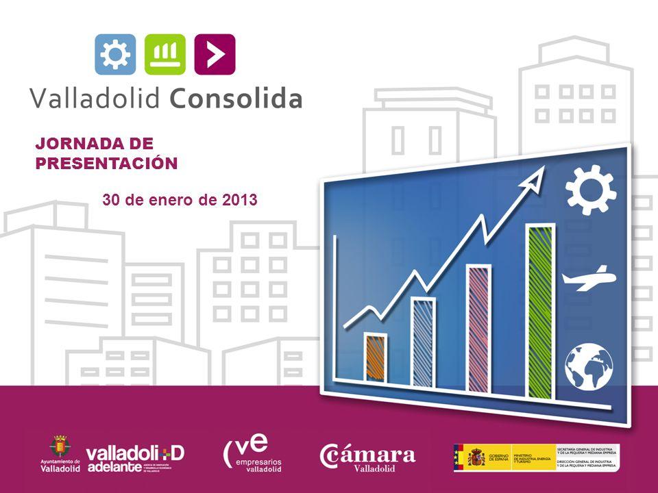 JORNADA DE PRESENTACIÓN 30 de enero de 2013