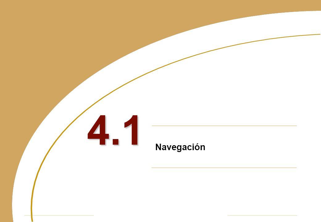 Navegación 4.1