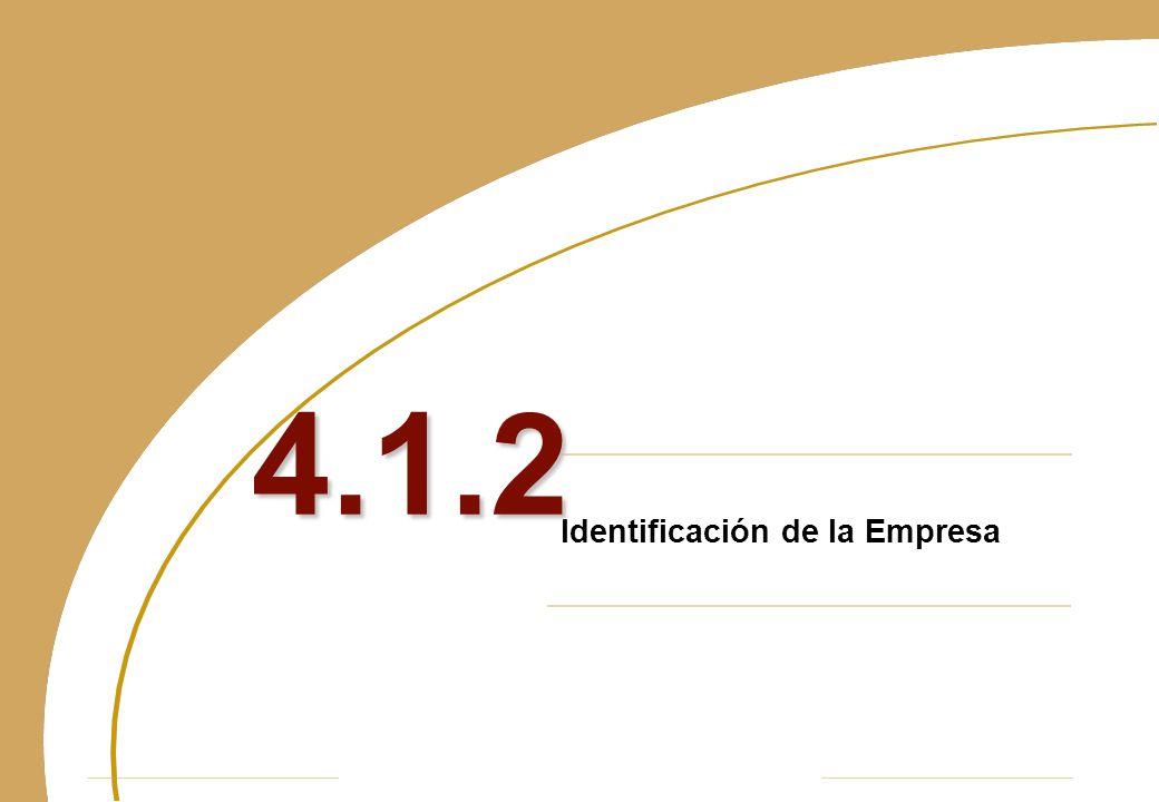 Identificación de la Empresa 4.1.2