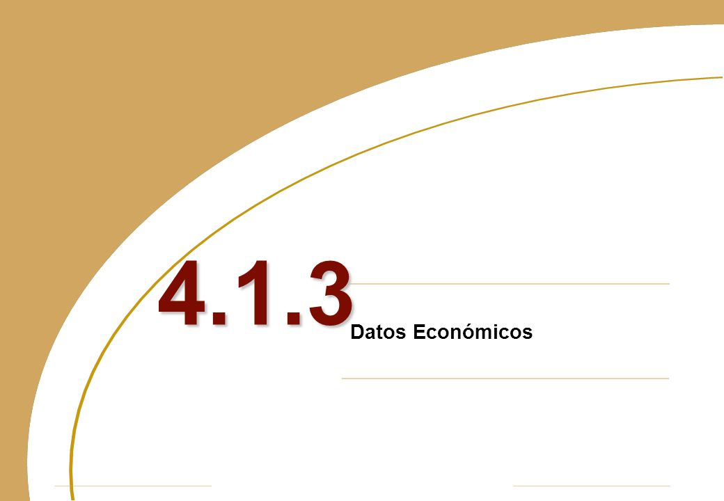 Datos Económicos 4.1.3