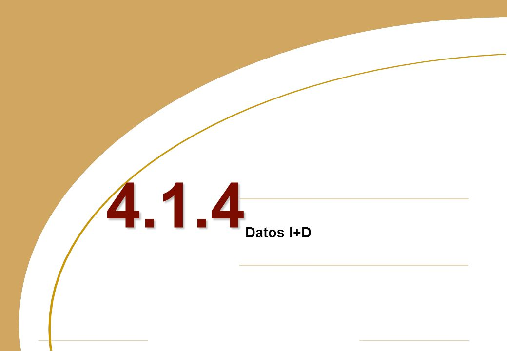 Datos I+D 4.1.4