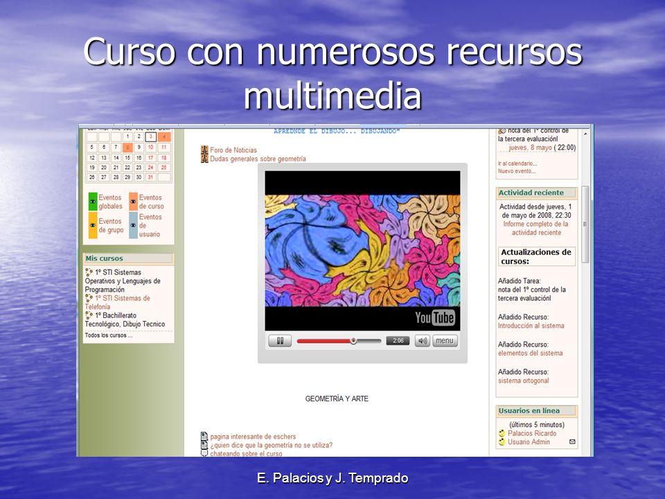 E. Palacios y J. Temprado Curso con numerosos recursos multimedia
