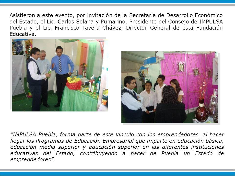 IMPULSA Puebla, forma parte de este vinculo con los emprendedores, al hacer llegar los Programas de Educación Empresarial que imparte en educación básica, educación media superior y educación superior en las diferentes instituciones educativas del Estado, contribuyendo a hacer de Puebla un Estado de emprendedores.