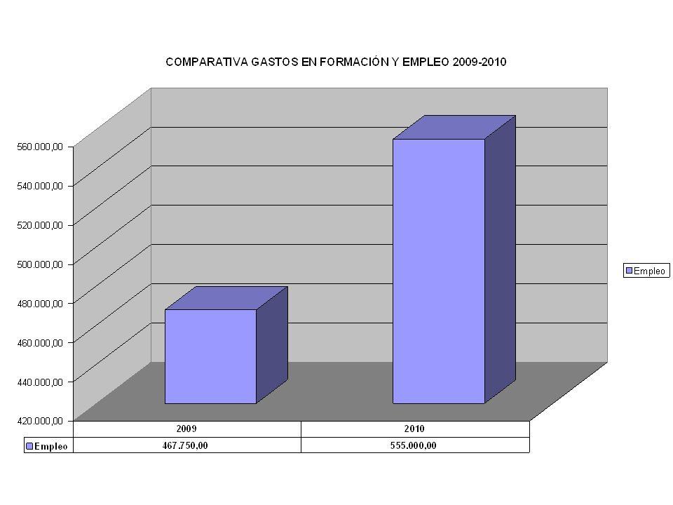 PRINCIPALES INVERSIONES TOTAL INVERSIONES 2010: 22,3 MILLONES DE EUROS Programa Rivas Participa2.575.000 euros COSS3.000.000 euros Mejora Accesos Rivas Centro1.850.000 euros Parque Casa Grande1.000.000 euros Enlace M-501.500.000 euros